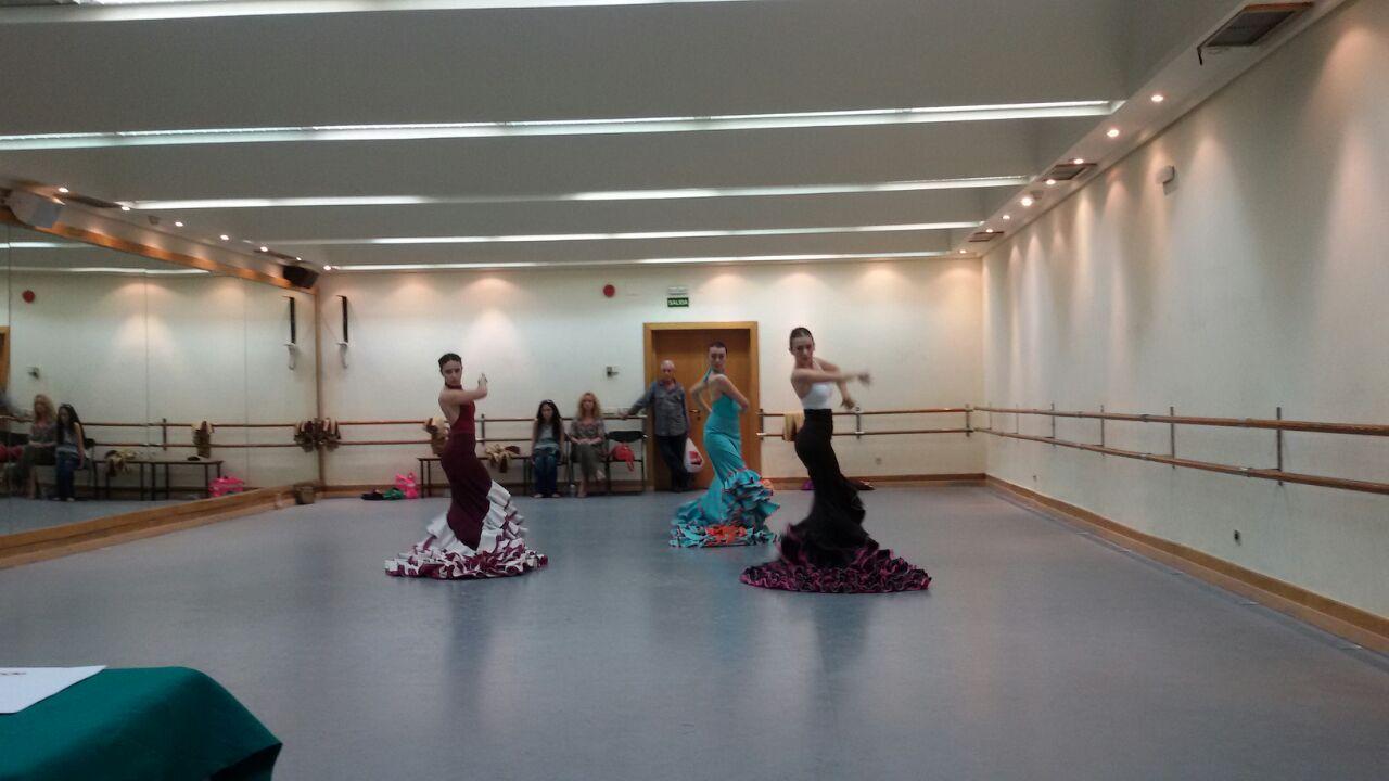 Exámenes Danza Española Junio 2015