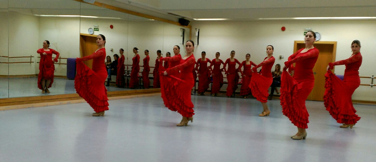 Exámenes Flamenco Febrero 2016