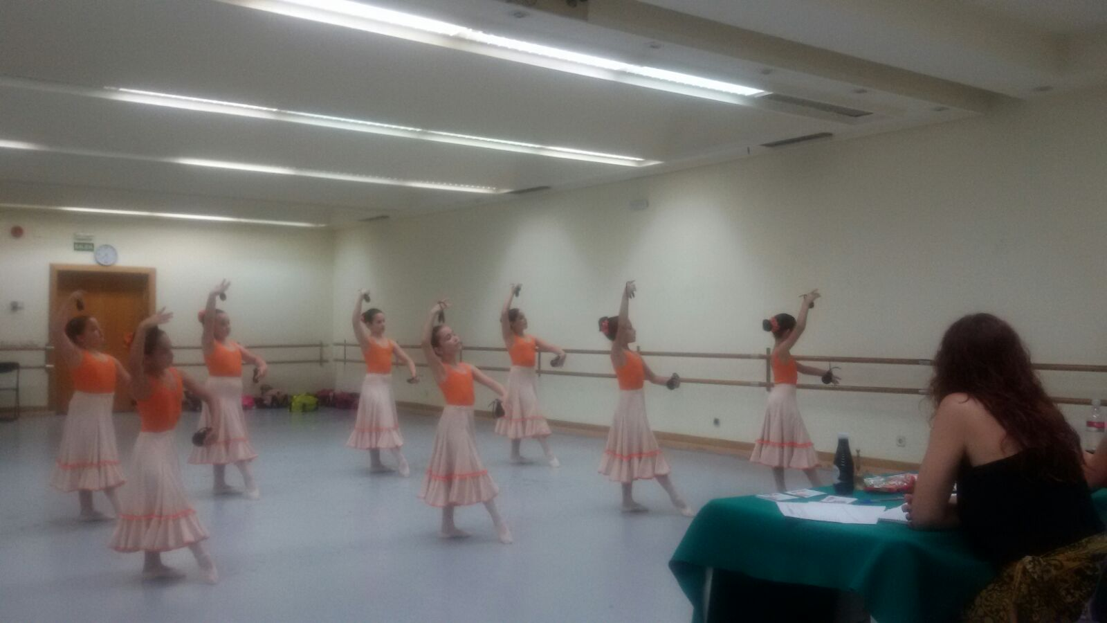 Exámenes Danza Española Junio 2016